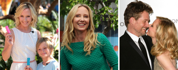 Anne Heche and family