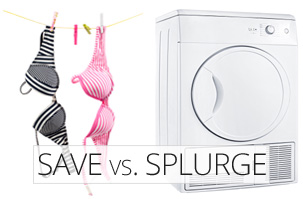 Save vs. Splurge -- Hang it out to dry