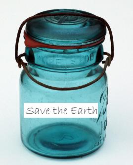 Earth Day jar