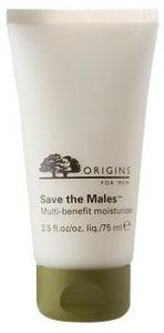 Origins for Men Save the Males Multi-benefit moisturizer ($35.00,