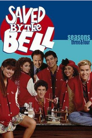Saved by the Bell TV Show DVD Cover