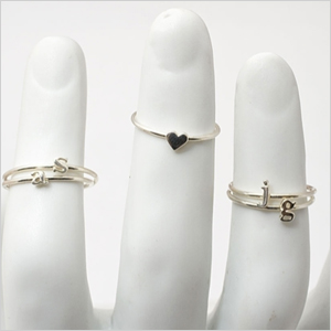Stackable rings from Catbird