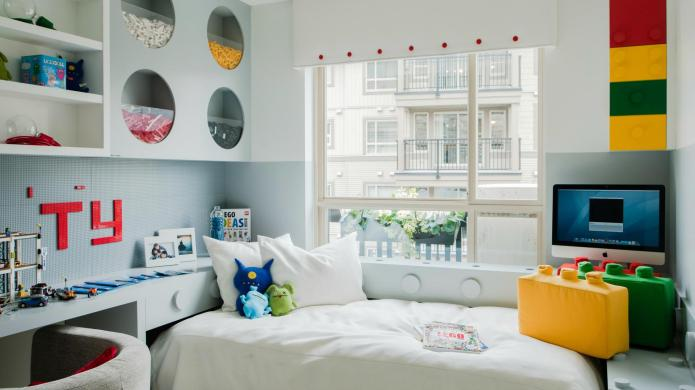 Put together a camera-ready kid's room