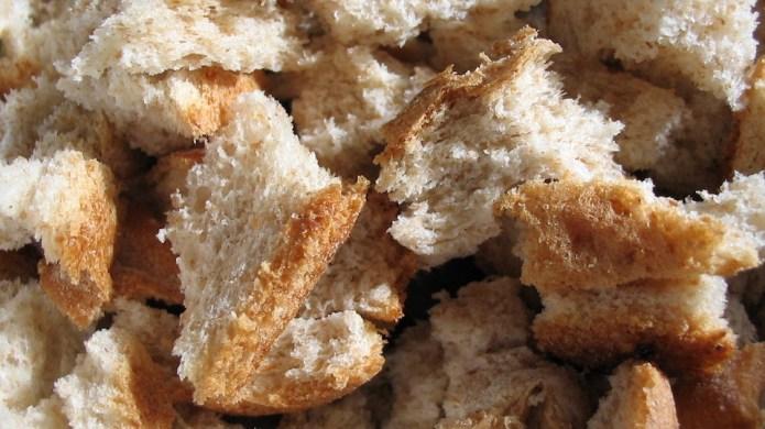 Burnt toast and stale bread: Genius