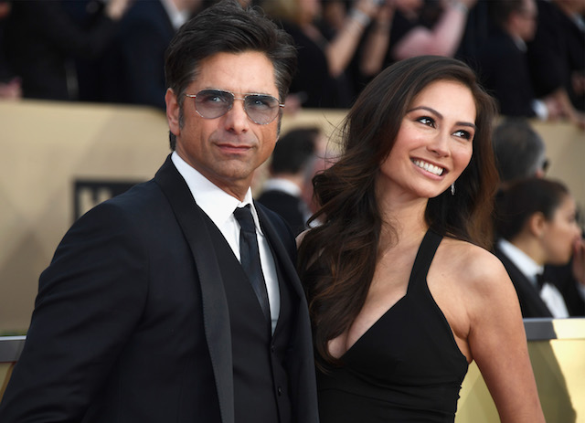 John Stamos & Caitlin McHugh attend the 24th Annual Screen Actors Guild Awards