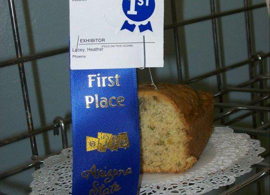Blue Ribbon Zucchini Bread