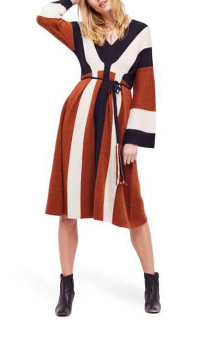 Must-Have Long Sleeve Dresses   Free People Wanderlust Dress