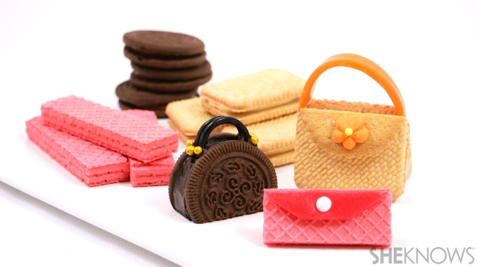 Cookie purses are the edible accessory