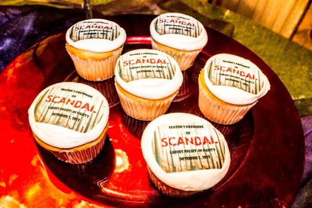 scandal cupcakes