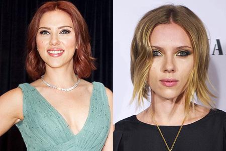 Scarlett Johannson red hair