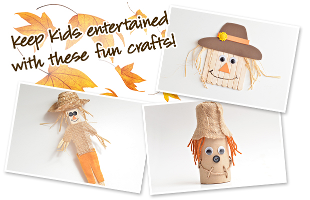3 Simple Scarecrow Crafts Sheknows