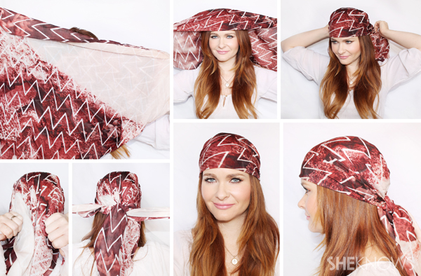 10 Hair Scarf Tutorials That Ll Take Your Summer Style To The Next