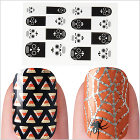 Halloween nail applique