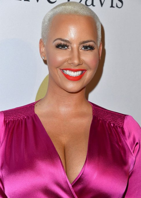 Amber Rose Buzz Cut