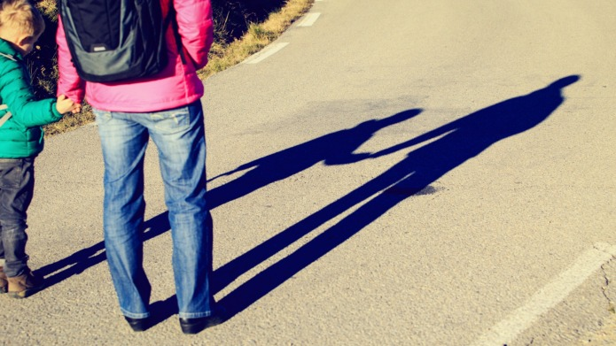 Parents could be arrested for walking