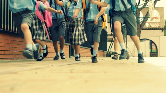 Thousands of schoolkids are going 'on