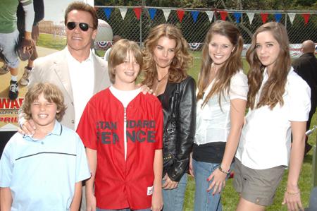 Schwarzenegger family