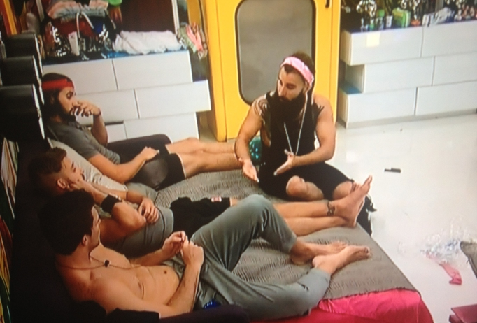 Paulie, Corey and Vic Big Brother