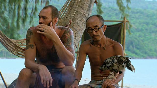 Scot Pollard and Tai Trang on Survivor: Kaoh Rong