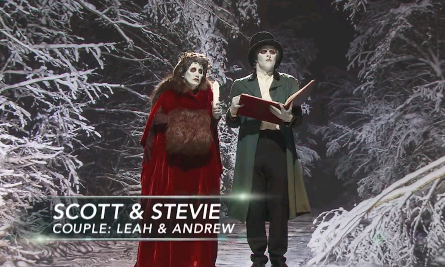 Scott and Stevie's finished makeups