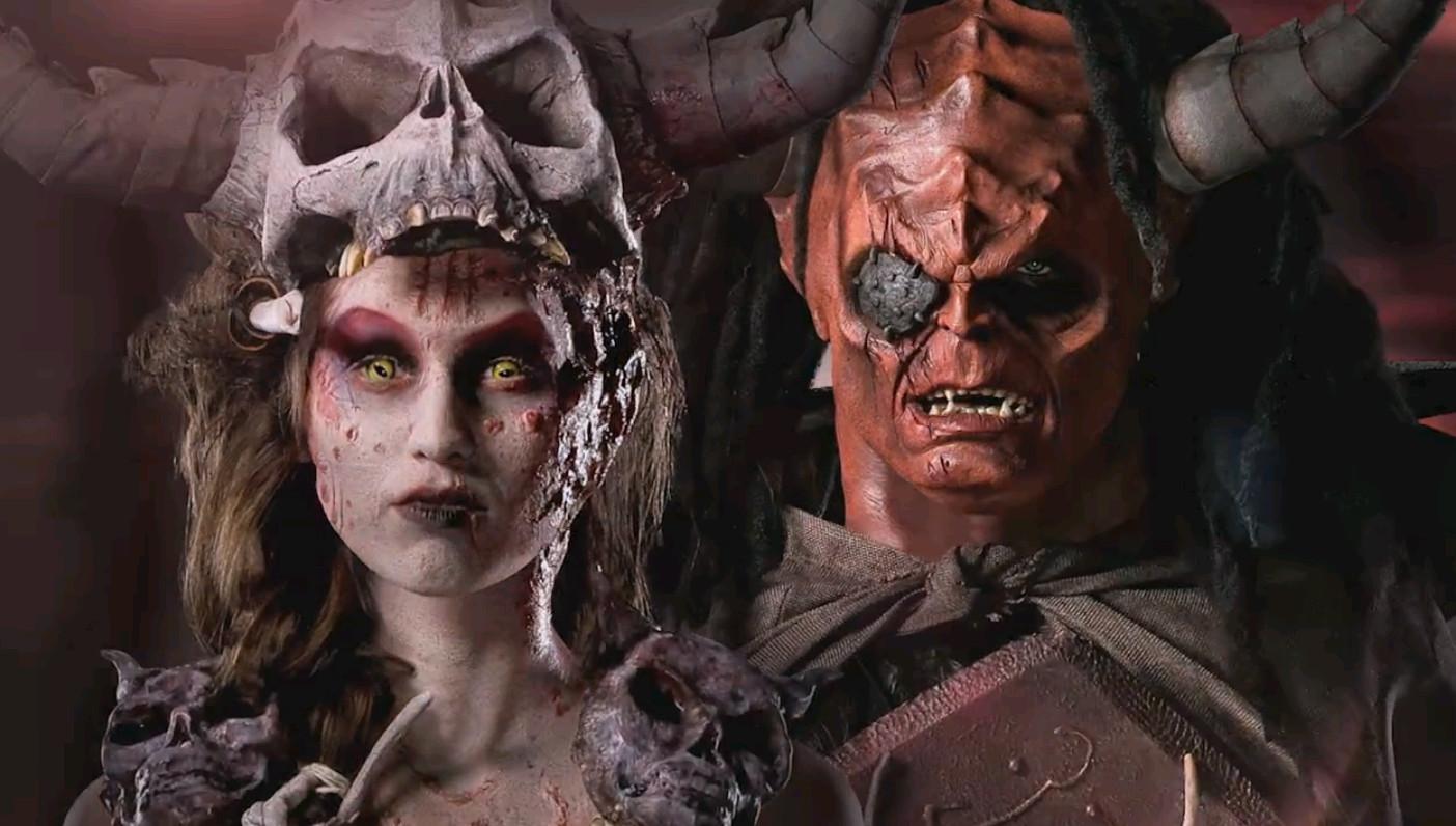 Kevon Ward and Scott Fensterer's finished gatekeeper makeups