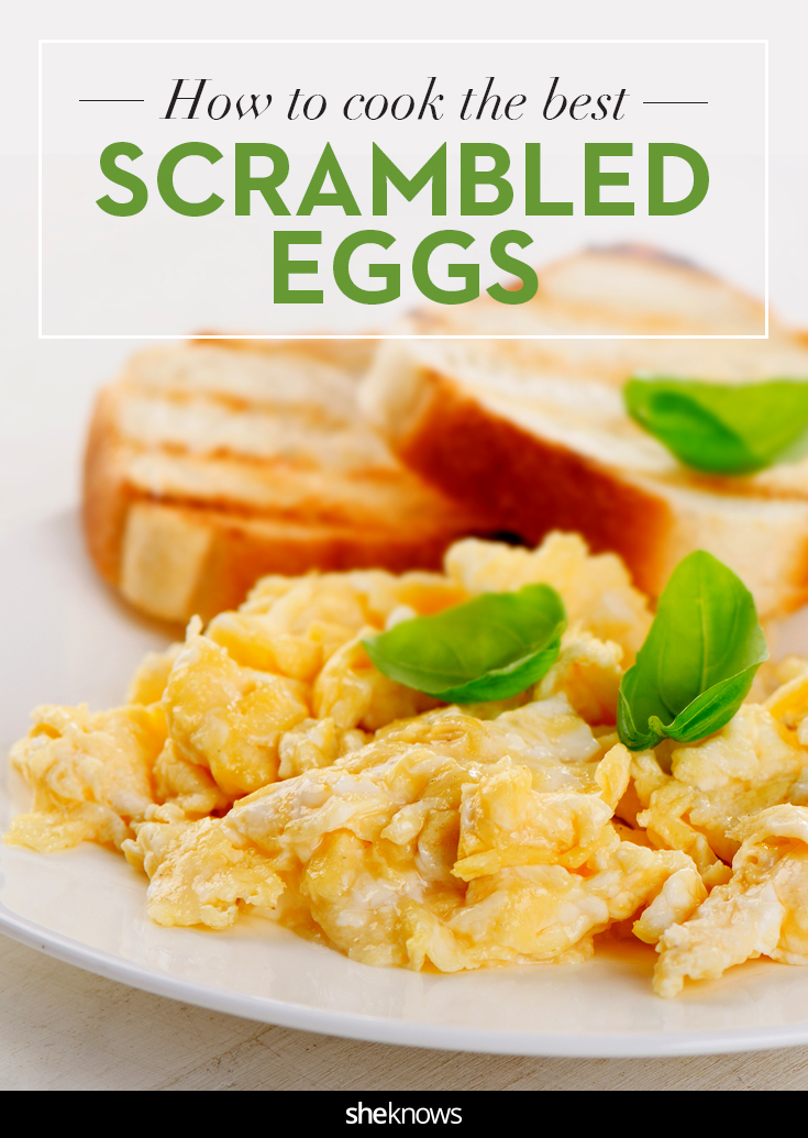 how to cook the best scrambled eggs