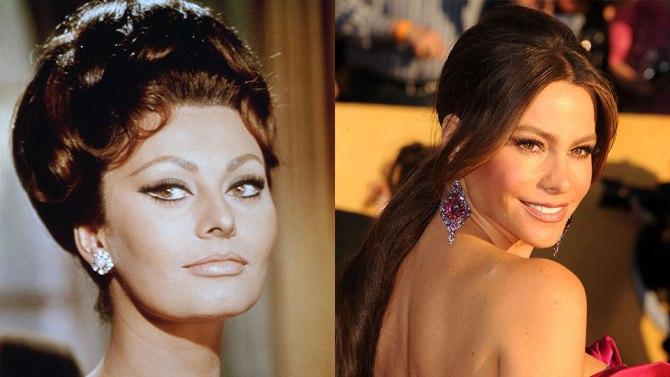 Sophia Loren and Sofia Vergara