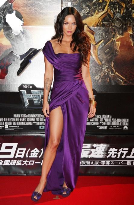Ultra Violet On The Red Carpet | Megan Fox