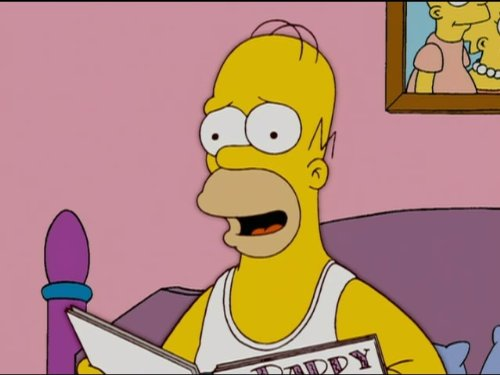 Still of the animated character Homer Simpson from 'The Simpsons'