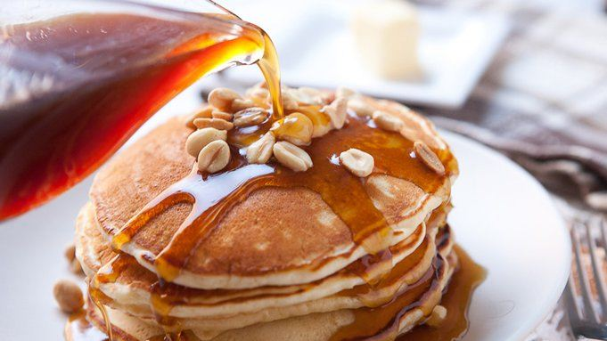 pancakes with jack daniel's syrup