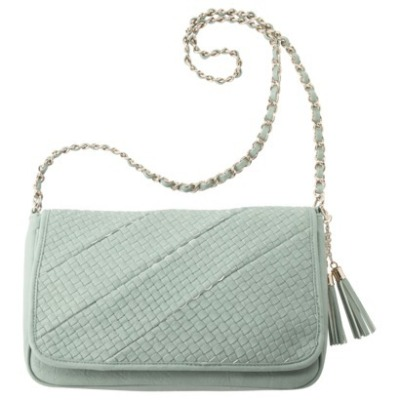 The seafoam satchel from target