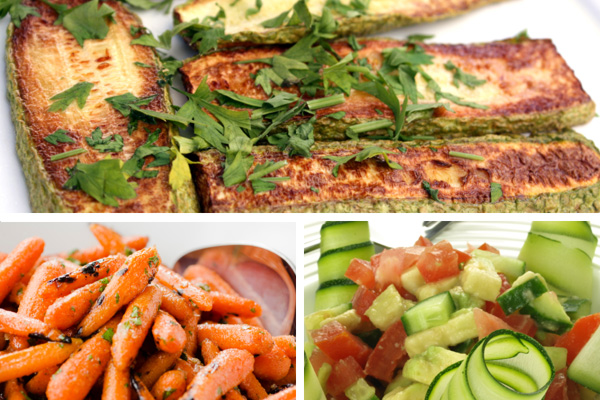 Seasonal vegetables recipes