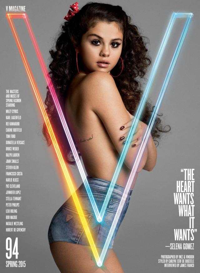 Selena Gomez V