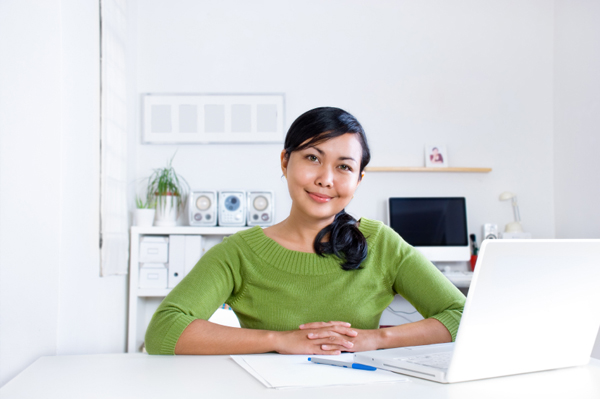 self employed woman