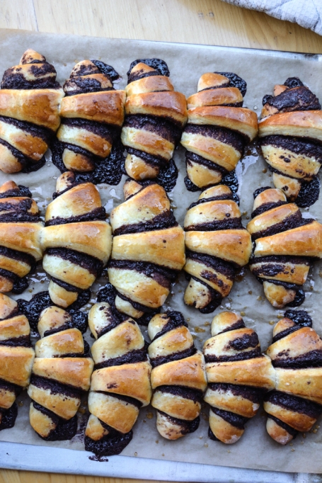 14 Traditional Hanukkah Dishes That Should Be In Everyone's Repertoire: chocolate rugelach