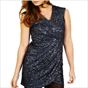 oasis sequined dress