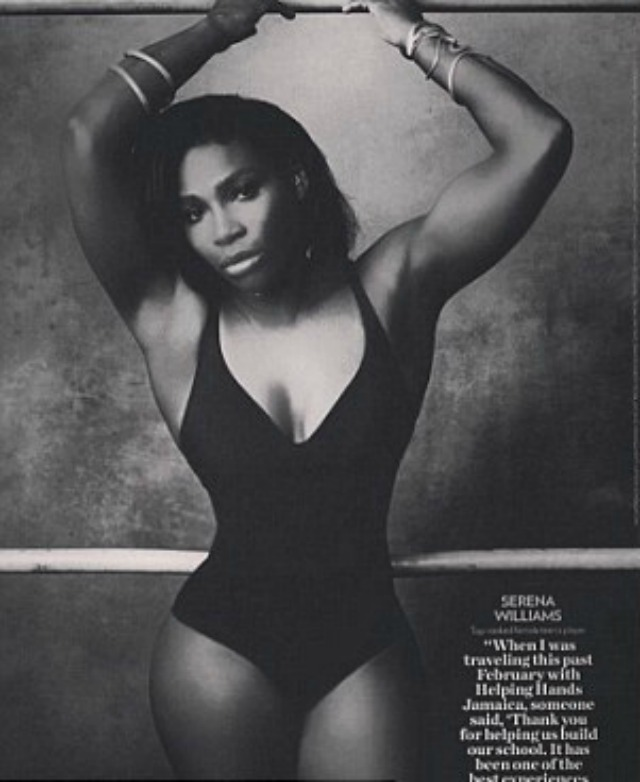 Serena Williams deletes photoshopped pic from Instagram