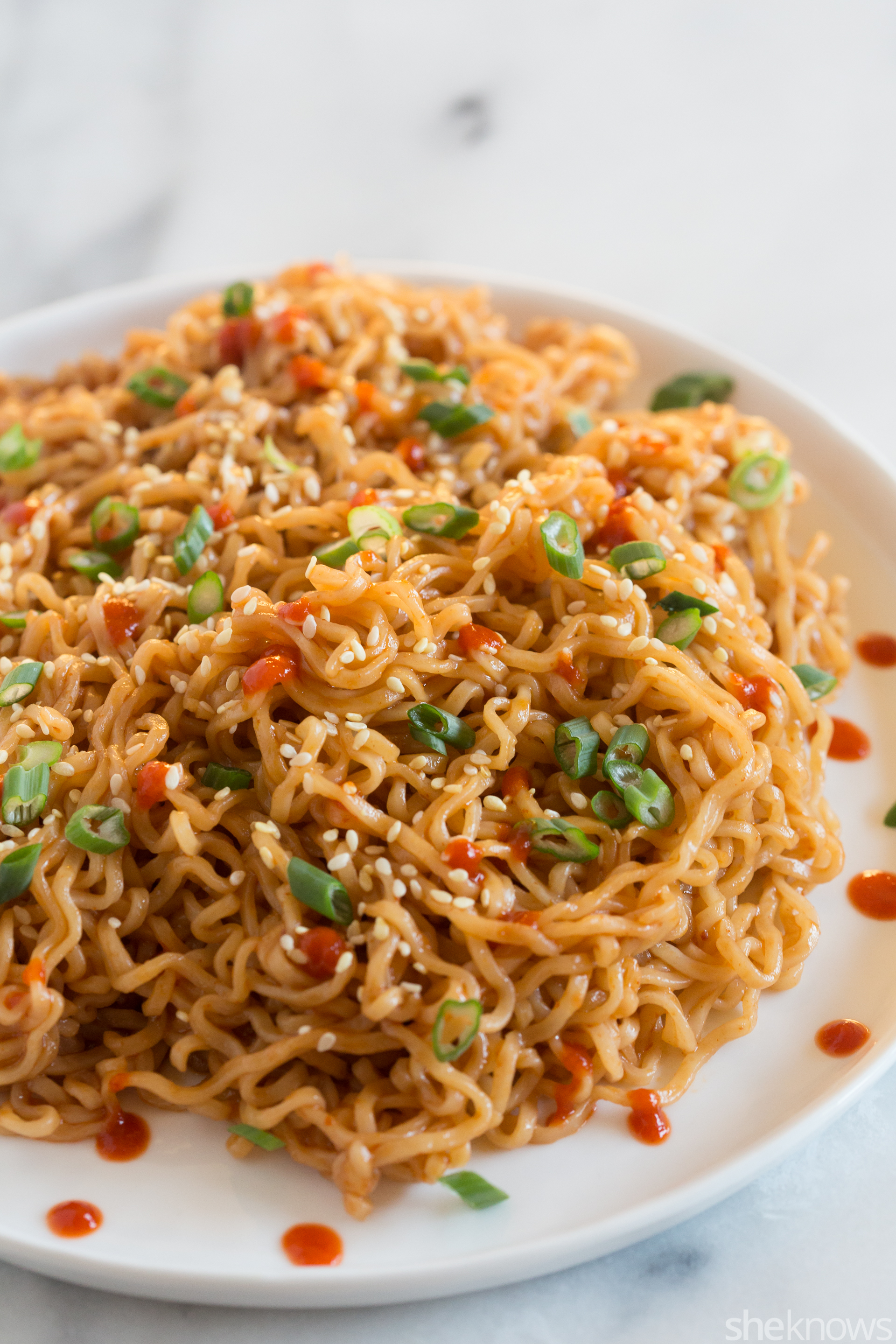 Sriracha sesame noodles — the impossibly easy ramen hack you need to know – SheKnows