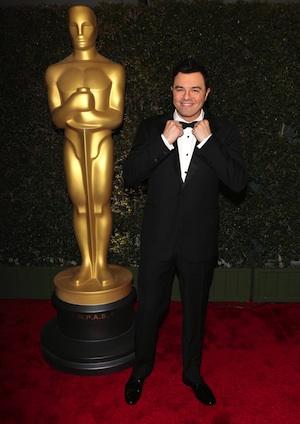 Seth MacFarlane at the Oscars.