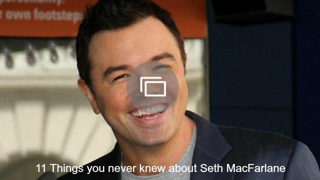 seth macfarlane slideshow