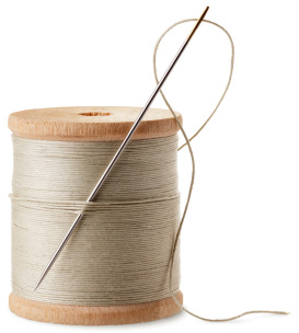 Spool of thread and needle | Sheknows.com