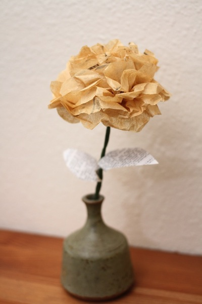 Sewing-pattern flowers