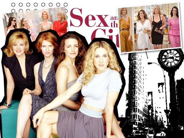 Sex and the City gals and the Manhattan fashion