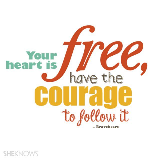Braveheart love quote