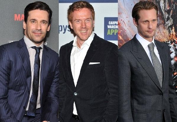 Sexiest TV guys: Jon Hamm, Damian Lewis and Alexander Skarsgard