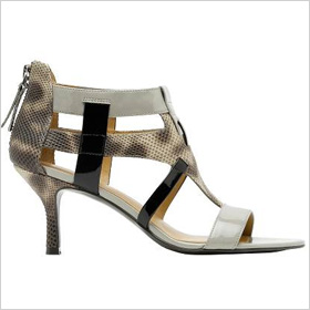 Whirly sandal (Nine West, $150)