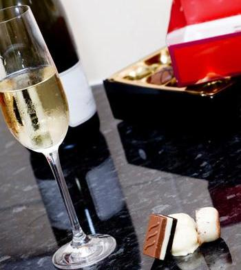 Best chocolates for white wines