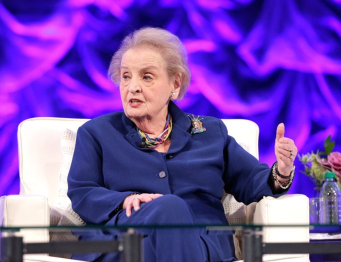 Feminist Fashion Icons: Madeleine Albright