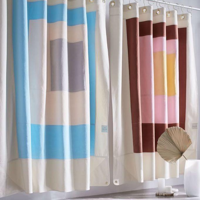 Quiet Town Home Shower Curtain - Marfa