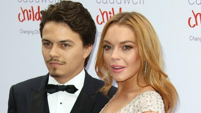 Lindsay Lohan's ex is calling bull